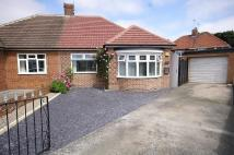 Semi-Detached Bungalow in Deepdene Grove, Seaburn