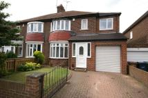 semi detached home in Dykelands Road, Seaburn