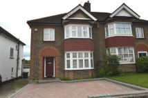 3 bed semi detached property to rent in Lullington Garth...