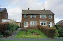 3 bedroom semi detached property for sale in Thoresby Place...