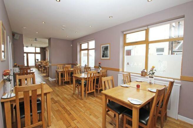 Inner dining area