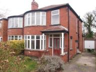 3 bedroom semi detached house for sale in West Park Drive West...