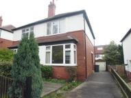 semi detached house in Castle Grove Avenue...
