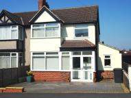 semi detached house in Victoria Drive...