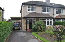 semi detached house in Gledhow Lane, Roundhay...