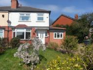 semi detached house in Wensley Road...