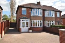 3 bedroom semi detached property for sale in Norton Road, Roundhay...