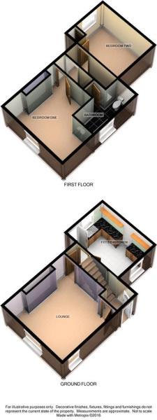 3D Floorplan - 1 Nel