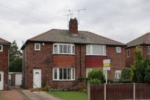 semi detached house to rent in 34 Raymoth Lane, Worksop