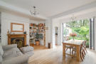 Rear reception room with bi-fold doors to the garden