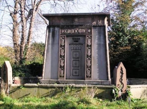 The Kilmorey Mausoleum which the property backs on to