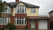 Richmond Road semi detached house to rent