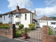 semi detached house in Holywell Crescent...