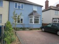 Benson Road semi detached property to rent