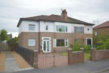 semi detached property in Dumbuck Crescent...