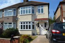 3 bedroom semi detached property in Worton Gardens...
