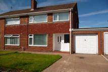 3 bed semi detached home in Lambton Drive...