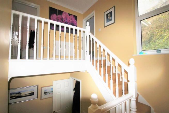 Stairs to Bedroom Landing