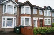 Terraced home in Burnaby Road, Radford...