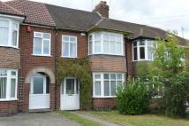 3 bed Terraced home to rent in Sandhurst Grove, Radford...