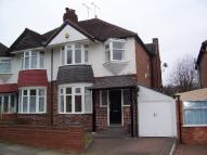 Harborne Park Road semi detached house to rent