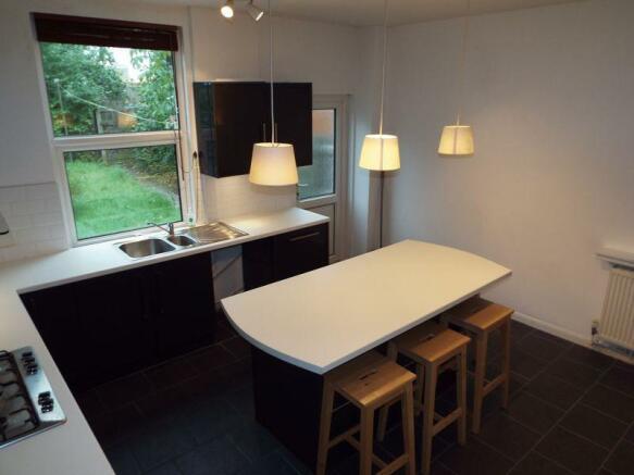 Full view kitchen