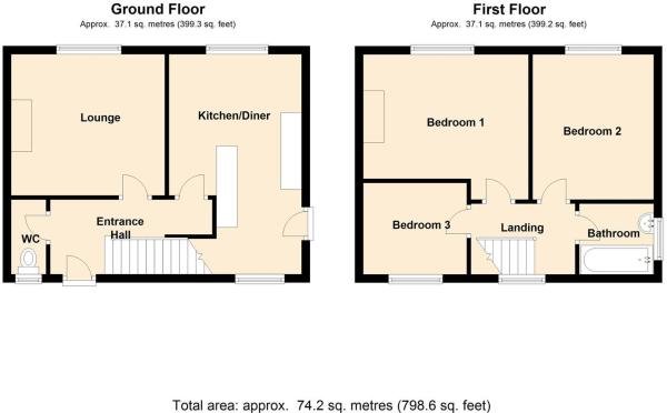 FLOOR PLAN 41 Heol C