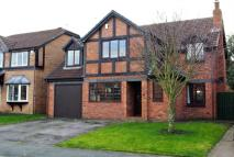 Detached home for sale in Heron Way, Blackpool...