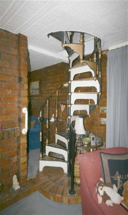 Feature Spiral Stair