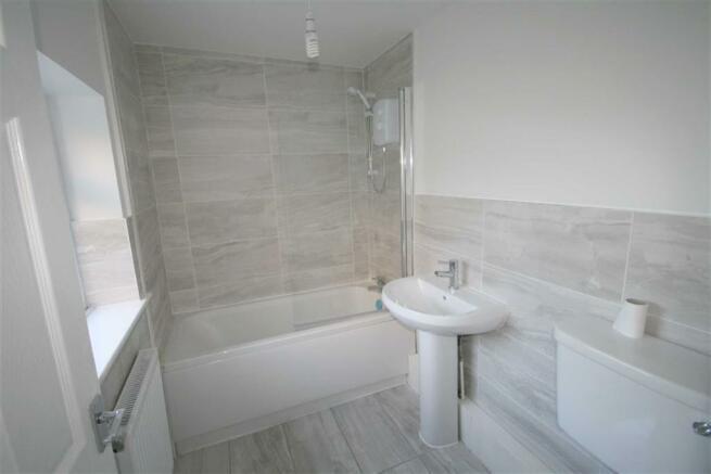 Ground floor Modern Bathroom