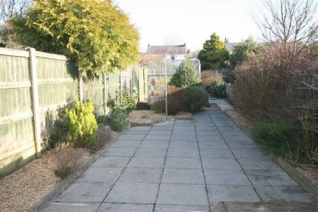 Good sized rear Garden