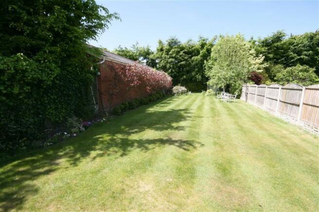 Rear Garden with Sunny Aspect