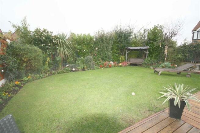 Fabulous rear Garden
