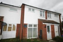 Terraced house in Burrell Close...