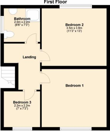 FLOORPLAN FIRST FLOO