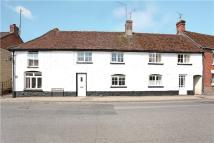 Terraced house in West Street, Aldbourne...