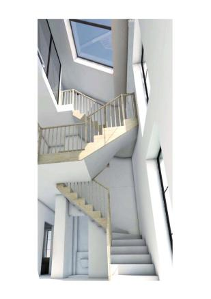 Proposed Staircase