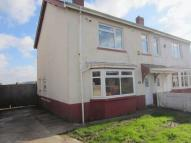 semi detached home to rent in Snowden Road, Ely...