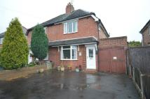semi detached home in Florence Road, Codsall