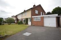 3 bedroom semi detached property in Princes Gardens, Codsall