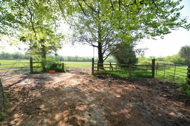 Yard access to the three paddocks