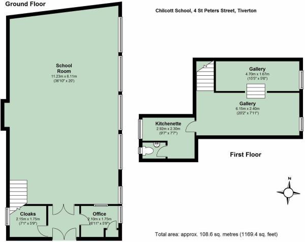 floor plan Chilcot School