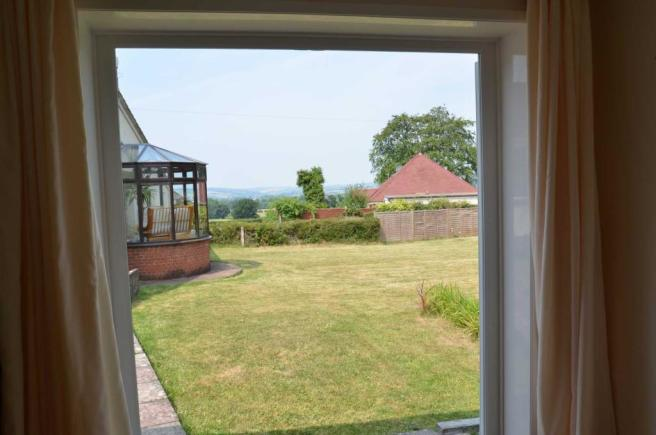 View From Garden Room