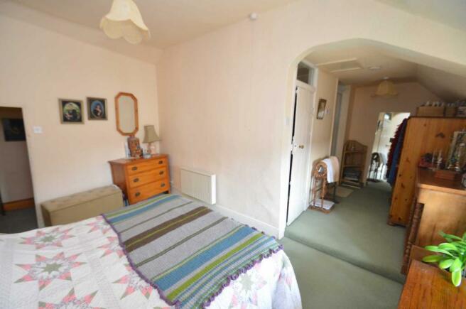 Bedroom 1 dressing/shower area