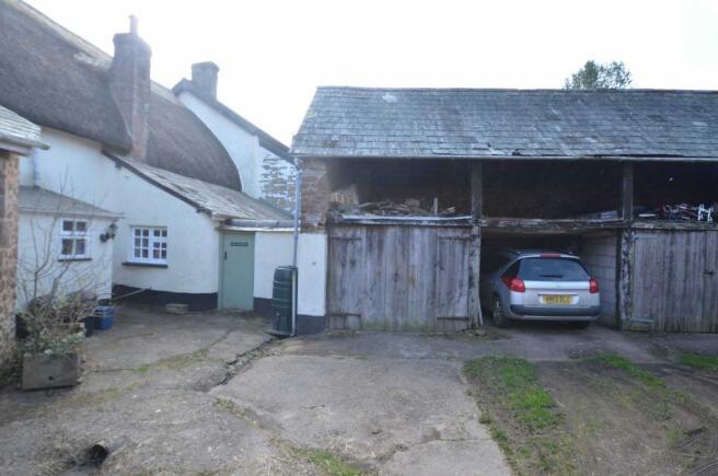 Barn/garage area
