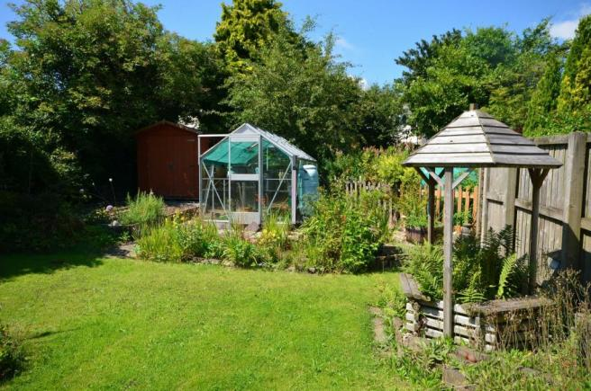 Garden and well
