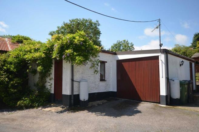 Garage and outbuildings