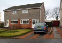 semi detached property in Kingseat Drive...
