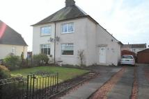 semi detached house for sale in Park Terrace, Tullibody,