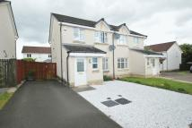 3 bedroom semi detached home in Delph Wynd, Tullibody...